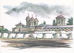 Romania  ,  Church , Monastery Vacaresti , Postcard - Roemenië