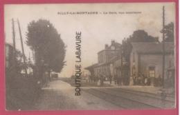 51 - RILLY LA MONTAGNE---La Gare --- Vue Interieure---animé - Rilly-la-Montagne