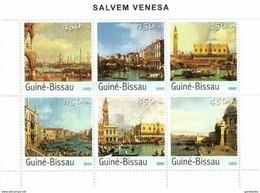GUINE BISSAU 2003 SHEET SAVE VENICE SALVEM VENESA SALVEMOS VENECIA Gb3223 - Guinée-Bissau