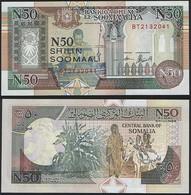 Somalia P R2 - 50 N Shilin 1991 - UNC - Somalia
