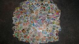 Lot De 2000 Timbre Afrique  A Trier - Timbres