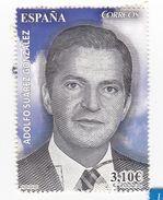 3,10  Euros - Adolpho SUAREZ GONZALEZ - Très Beau Timbre - 1931-Aujourd'hui: II. République - ....Juan Carlos I