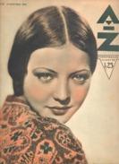 Revue AZ N°33/1932-Détail Voir Descriptif- Danses, La Lune, Russie Des Soviets, Engis, Mariemont (aub - 1900 - 1949