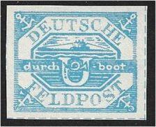 0956g: DR 1945, U- Boot Hela, Feldpost WW II, Als Altfälschung Angeboten - Besetzungen 1938-45