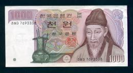 Banconota Korea Del Sud - 1000 Won -  Circolata - Corea Del Sud