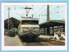 IMAGE BON POINT ECOLE CARTONNÉE - SÉRIE TRAIN - LA TRACTION ELECTRIQUE - Andere