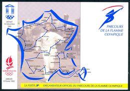 ALBERTVILLE 92 - Parcours De La Flamme Olympique - Jeux Olympiques