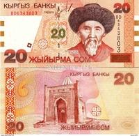 Kyrgyzstan - 20 Som 2002 UNC - Kyrgyzstan