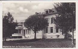 Cpa -sui-couvet--hopital-val De Travers-edi Georges Blanc - NE Neuchâtel