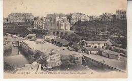 Biarritz   Le Port Des Pêcheurs Et L'Eglise Sainte Eugénie - Biarritz