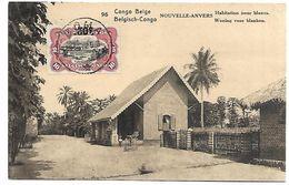 CONGO BELGE - NOUVELLE-ANVERS - Habitation Pour Blancs - Congo Belge - Autres
