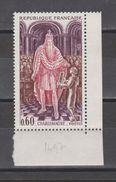 FRANCE / 1966 / Y&T N° 1497 ** : Charlemagne - Gomme D'origine Intacte - Neufs