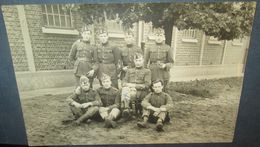 Carte Photo Originale Armée Belge - Documents