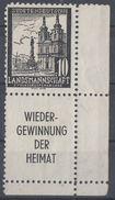 DR Vignette Sudetendeutsche Landsmannschaft - Wieder-Gewinnung Der Heimat - Deutschland