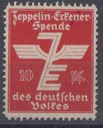 DR Vignette Zeppelin-Eckener-Spende - Ungebraucht