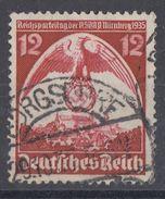 DR Plf. Minr.587I Gestempelt Waager. Rifflung Fehlend - Deutschland
