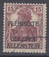 Allenstein Minr.4 Gestempelt - Deutschland