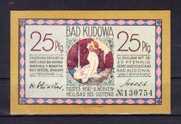 Notgeld, Bad Kudowa, Helmuthquelle, 25 Pfg (40701) - Polen