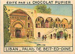 PIE 17-GAN-5549  : IMAGE CHOCOLAT PUPIER. LIBAN. PALAIS DE BEÏT-ED-DINE - Vieux Papiers