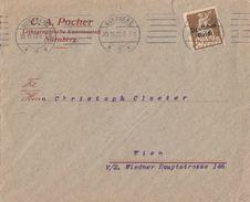 DR Werbeumschlag C. A. Pocher Nürnberg EF Minr.124 Nürnberg 30.11.20 - Deutschland