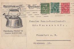 DR Werbekarte Bornefeld & Co. Hamburg Mif Minr.187,206,226 Hamburg - Deutschland