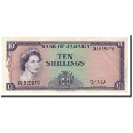 Jamaica, 10 Shillings, L.1960, KM:51Bc, 1964, TTB+ - Jamaica