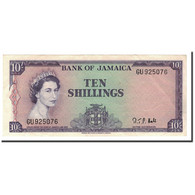 Jamaica, 10 Shillings, L.1960, KM:51Bc, 1964, TTB+ - Jamaique