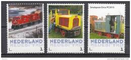 Trein, Train, Railway, Locomotive: Nederland 1 Rode Trein +  2x Smalspoor In Erica - Periode 2013-... (Willem-Alexander)