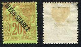 Colonie Française, Diégo Suarez N°19 Neuf*, Beau- - Neufs