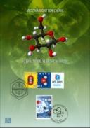International Year Of Chemistry 2011 Sheets Of The Slovakia Belgic - Blocks & Sheetlets