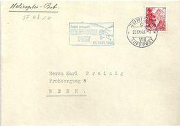 """Sonderstempel  """"Erste Schweiz. Helicopter Post, Zürich""""            1948 - Briefe U. Dokumente"""