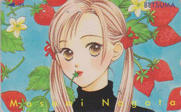 Télécarte Japon / 110-016 - MANGA - BETSUMA - By MASAMI NAGATA - ANIME Japan Phonecard - BD COMICS TK - 8930 - Comics