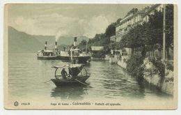 Cadenabbia - Lago Di Como - Battelli All'approdo - Non Viaggiata (Edit.Brunner & C.-Como & Zurich) - Como