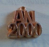 AN 2000 AVEC BELIERE- FEVE DOREE - - Fèves