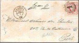 F.E. FULD & CA. BANQUEIROS DE FRANCFORT SOBRE O MEINO A MANUEL NUNES DOS SANTOS AN 1862 NOVO EMPRESTITO AUSTRIACO DO AN - 1892-1898 : D.Carlos I