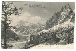 France // Haute Savoie  74 //  Chamonix, Chemin De Fer Du Montenvers - Chamonix-Mont-Blanc