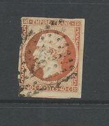 France 1853 Napoleon 40 Cent Orange Average Used Interesting 'carmine' Shade - 1853-1860 Napoleon III