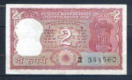 506-Inde Billet De 2 Rupees 1977-82 N14 Sig.82 - India