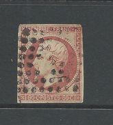 France 1853 Napoleon 80 Cent Carmine   Nick At One Side - 1853-1860 Napoleon III