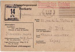 Camp De Prisonniers Oflag IV D Officiers Lager - Marcophilie (Lettres)