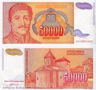 Yugoslavia - 50000 Dinar 1994 UNC - Jugoslawien