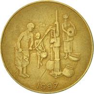 West African States, 10 Francs, 1987, Paris, TB+, Aluminum-Bronze, KM:10 - Ivory Coast