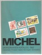 MICHEL Catalogue  Katalog SKANDINAVIEN-KATALOG 1982 Dänemark Finnland Island Norwegen Schweden - Stamp Catalogues