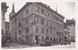 Cpa-sui-payerne--animée-voitures, Commerces-hotel De L'ours-edi ..n°1914 - VD Vaud