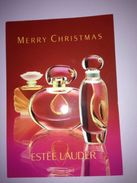 Estée Lauder  MERRY CHRISTMAS - Perfume Cards