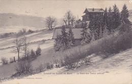 Cpa-74-sommet Du Saleve En Hiver-gare Des Treize Arbres-edi Jullien Freres N°5562 - France