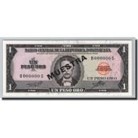 Dominican Republic, 1 Peso Oro, 1964-73, KM:99s3, 1964, Specimen - Dominicaine