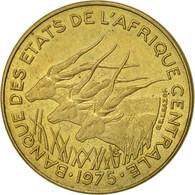 États De L'Afrique Centrale, 5 Francs, 1975, Paris, TTB+, Aluminum-Bronze, KM:7 - Cameroon