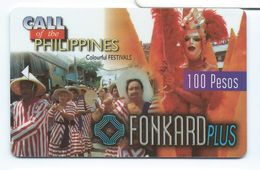 Print Demo No Chip Philippines P100 1st Issue Festivals 11/30/98 Test - Philippines