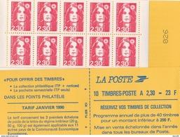 Marianne De Briat 2F30, Rouge N° 2629 C1 Dentelé 3 Côtés - Uso Corrente